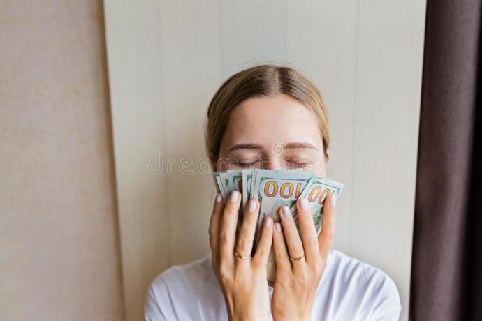 Paper money smells like nothing else.