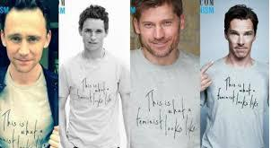 So do you believe male celebrities wearing support feminism shirts actually support feminism or is it all just a simple publicity stunt?
