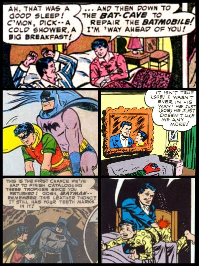 Batman!! Is Robin a victim of an abusive toxic relationship with Batman?