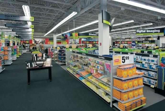 Have you or do you know of anybody who has worked for the office supply store staples?
