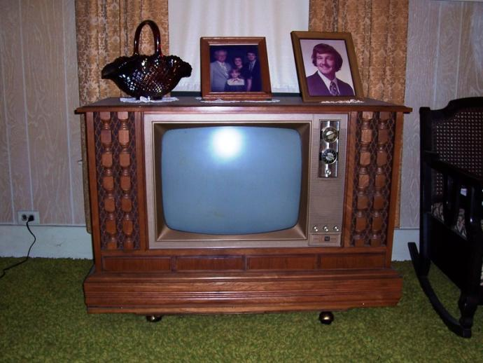 1970s Color Television