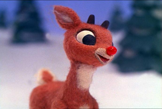 Did Rudolph the Red-Nosed Reindeer have a very shiny nose?
