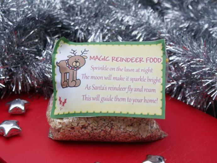 Do you remember making reindeer food as a kid and/or do you make reindeer food with your family?