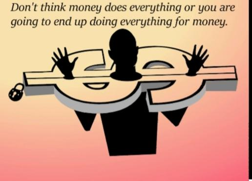 Why Do Some People Still Think Money Is The Answer To Everything?