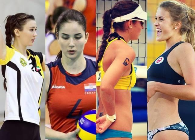 What are the sexiest national volleyball girls in the world?