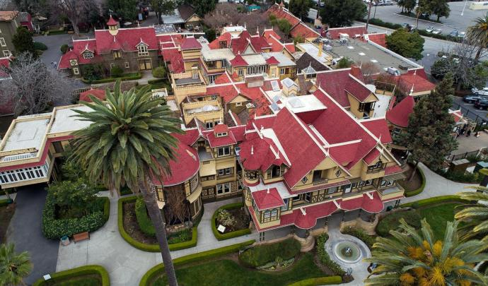 Have you ever heard of this place before, the Winchester Mystery House?