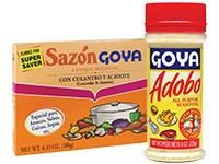 Whats your opinion of Goya products? And can you share what seasoning products you buy?