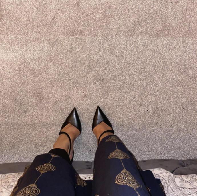 What do you think of my new high heels?