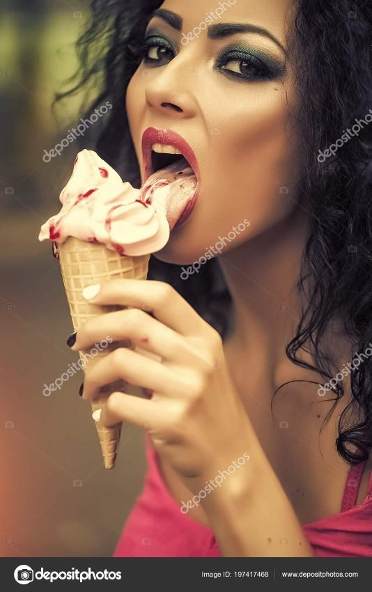 Have you ever sexually eaten ice cream before?