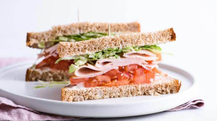 Did you have a sandwich for lunch?