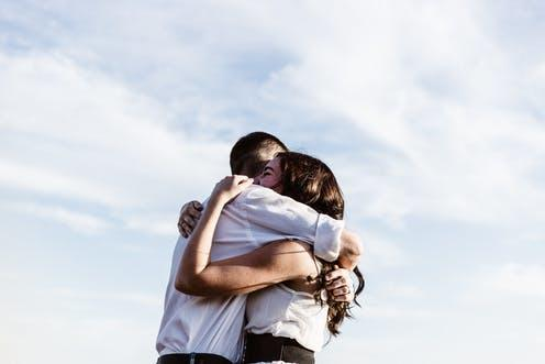Are you uncomfortable about hugging, with the risks of Covid?