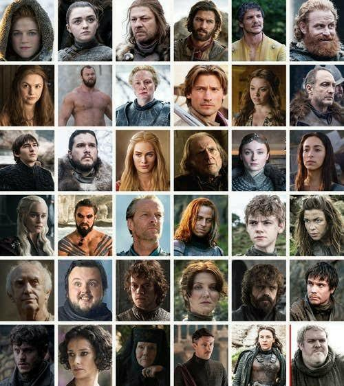 If you wanted to be one of the character in Game of Thrones, then which would it be and why?