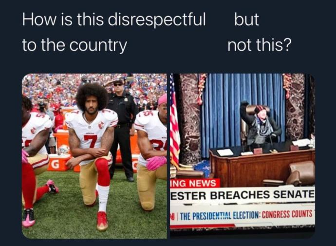 Tell me otherwise America?