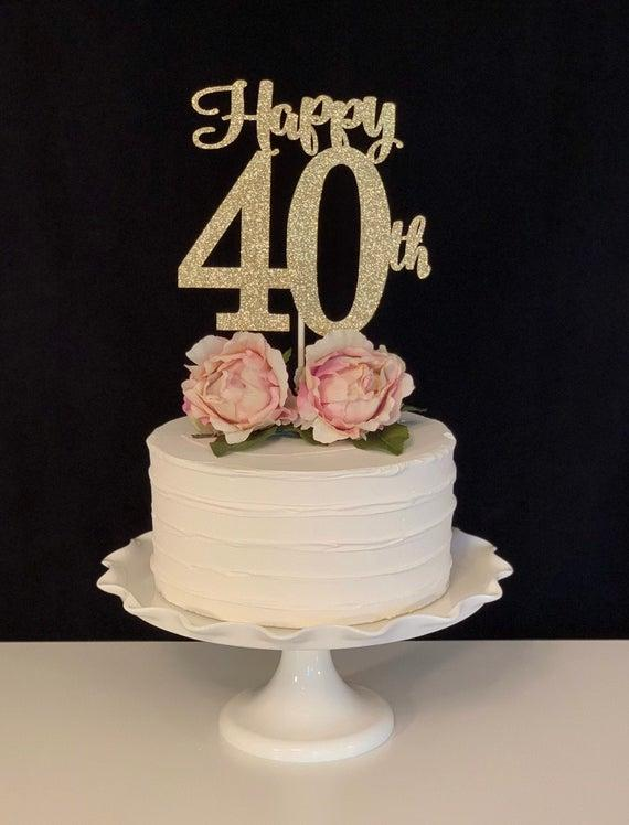 40th birthday present?