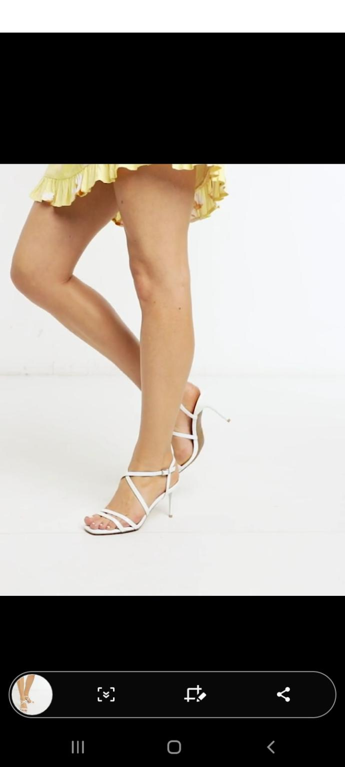Which heels will look the best with these dresses and do you think trainers like one below will suit the dresses?