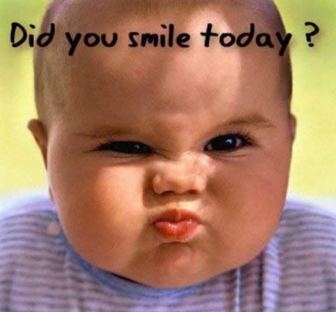 When It Comes To A Smile Did Anything Make You Smile Today?