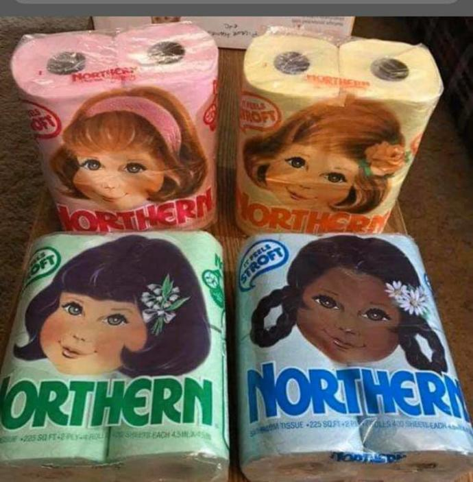 Colored Toilet Paper?