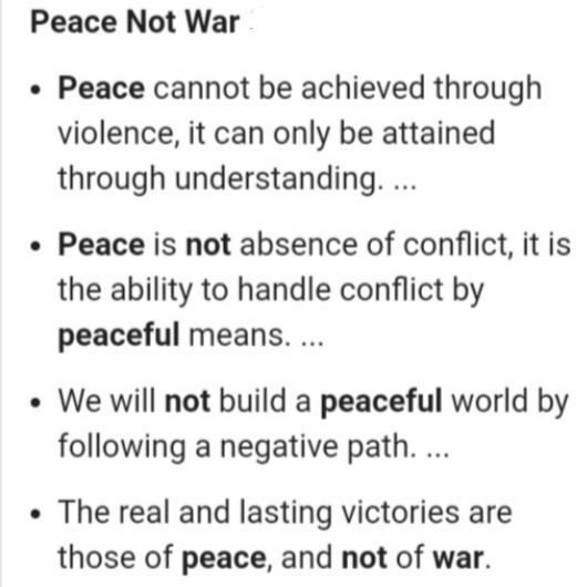 What Issues Do You Feel People Are Turning Into A Battle/War That Doesnt Need To Be One?