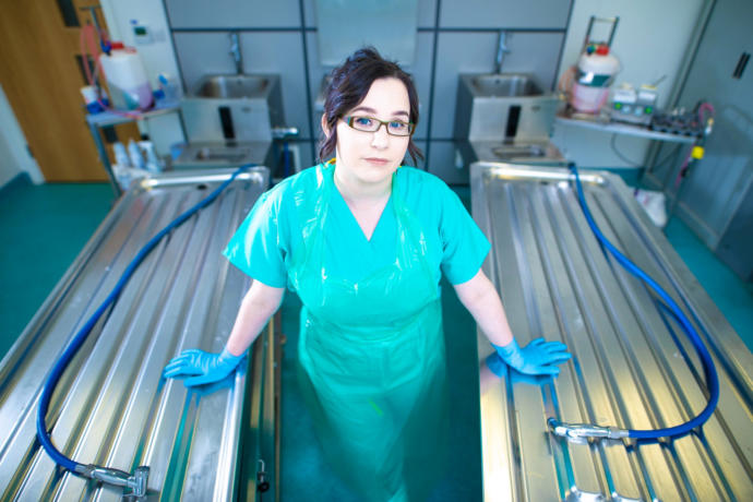 Would you be willing to be an embalmer?