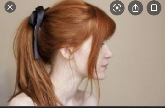 Is natural red hair pretty up in a ponytail?