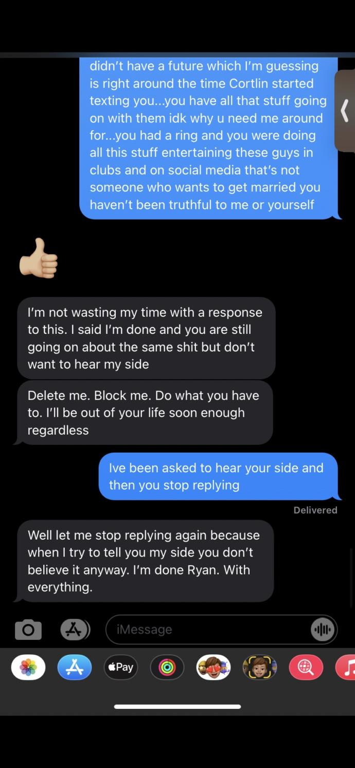My ex messaged me 3 weeks later after saying bye.. why?