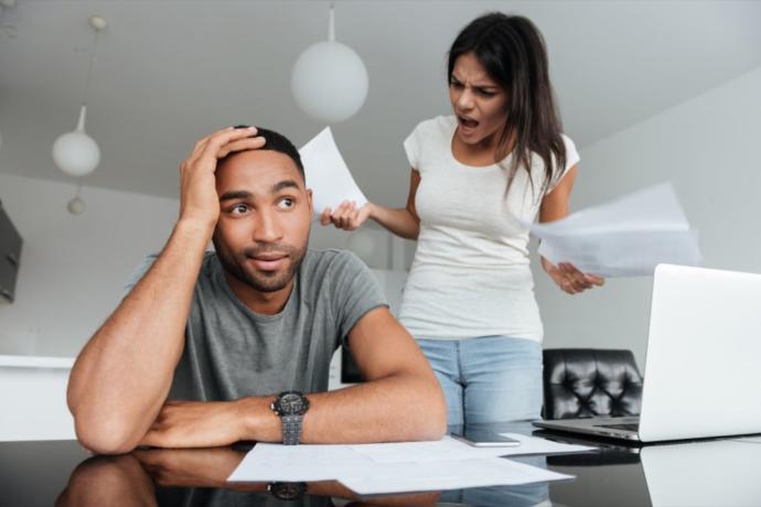 Why do women scream at their man?