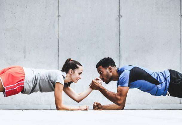 Would you be willing to go to the gym with your partner?