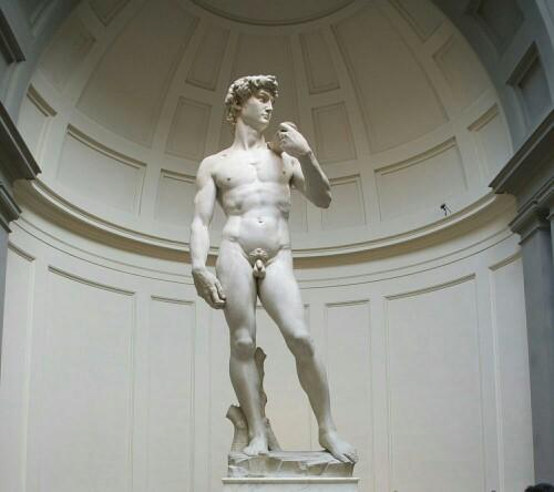 If Michelangelos David was alive today would he have hang ups about his tiny penis?
