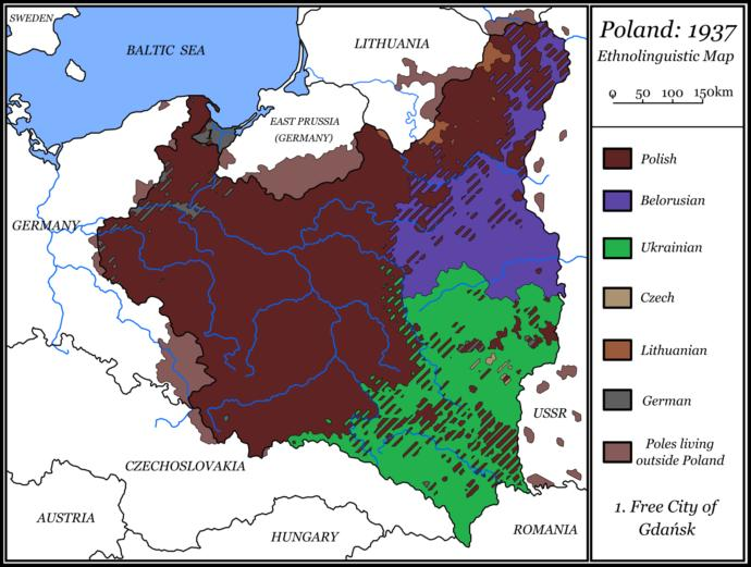 Why do you think France and Britain declared war on Nazi Germany for invading Poland but not the USSR?