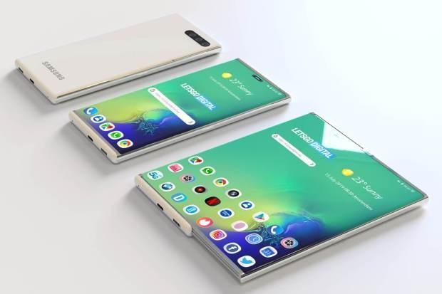 What do you think of the new phone with an expandable screen?