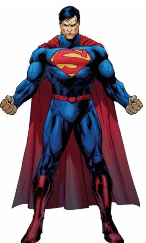 Superman apears on our earth an changes our world for the better whats he do?