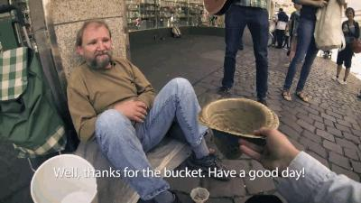 Whens the last time you gave a homeless person some money?