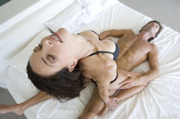 How long does the average man last in bed?