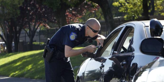 When a cop pulls you over and asks why he pulls you over, is it better to play dumb or be aware?