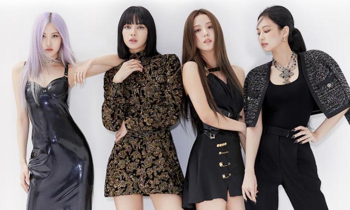 Left to Right: Rosé, Lisa, Jisoo, Jennie