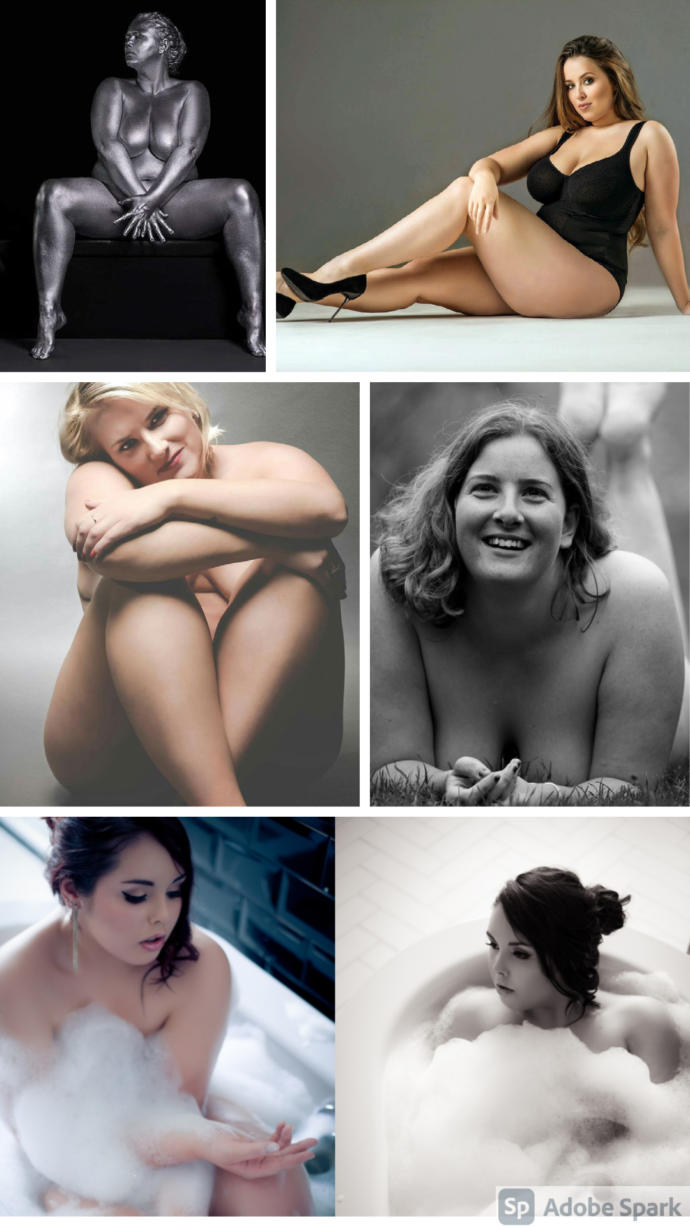Girls, looking at these photos would it give you the body confidence to pose nude for a photoshoot?