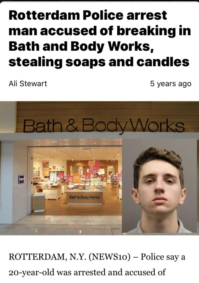 Why do men prefer shopping at Bath & Bodyworks with their partner than clothing stores?