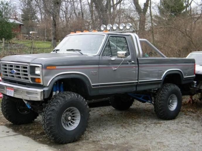 Which is Cooler? a big lifted truck or a fancy sports car?