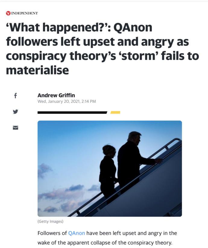 Is QAnon dead or will it continue?