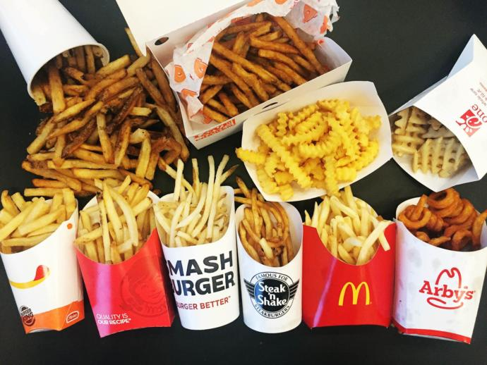 Which fast food restaurant has the best french fries?
