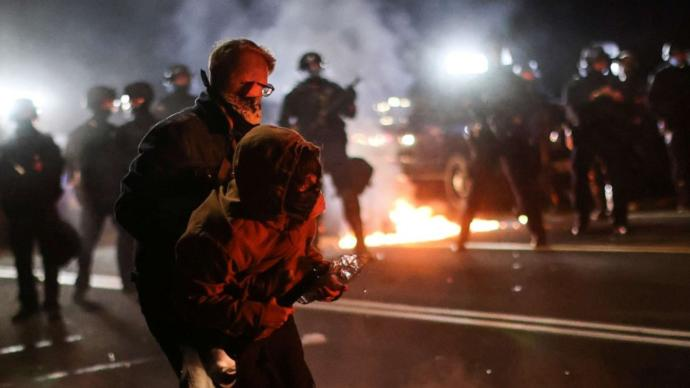 Has the Biden administration spoken out about the insurrection by Antifa that happened across the country on Inauguration Day?