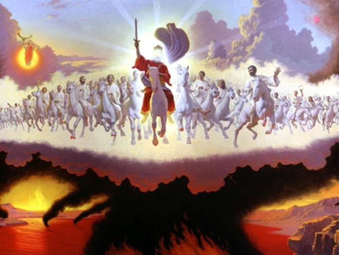 """""""He has loosed the faithful lightning of his terrible swift sword! His truth is marching on!"""""""