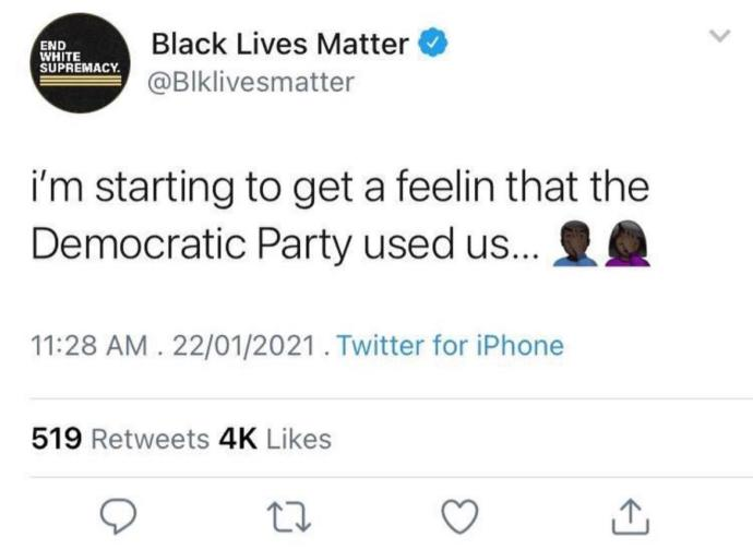 Why do BLM think this?