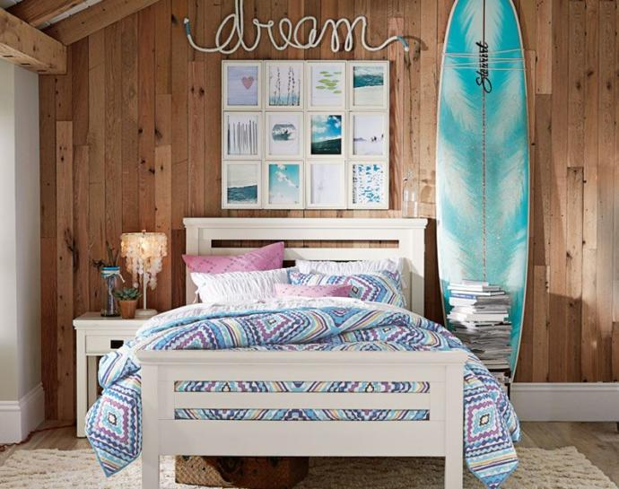 What was the theme of the dream bedroom you wanted as a kid/teen?