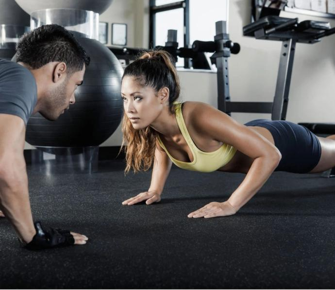 Girls, have you ever had a gym crush?