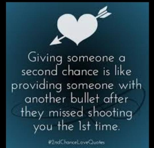 Can You Be Given Or Give Someone A Fresh Start/Second Chance Without Any Behaviour Changes?
