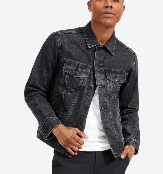 What is the best Jean jacket on me, I like this girl., and want to look good. what would be the best color on me?
