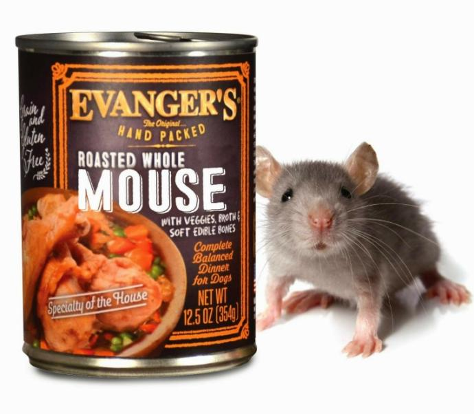 Why is there no rat flavored cat food?