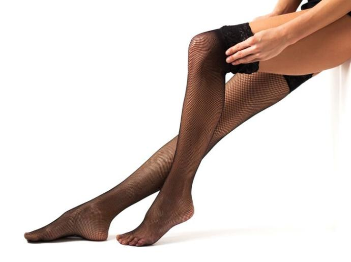 In your style opinion, when wearing stockings what looks best?
