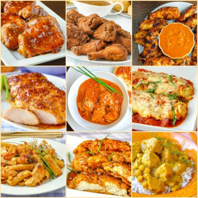 Whats the absolute best and worst thing to pair with chicken?